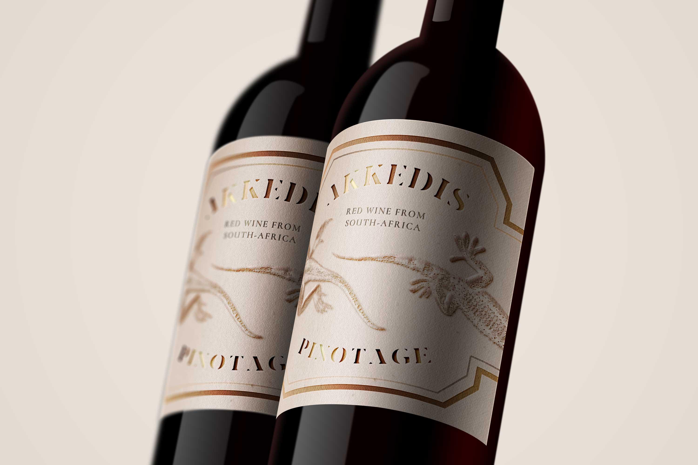 branding typografie wijnetiket Claire Volger grafisch ontwerp